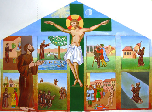 La vie de Saint François