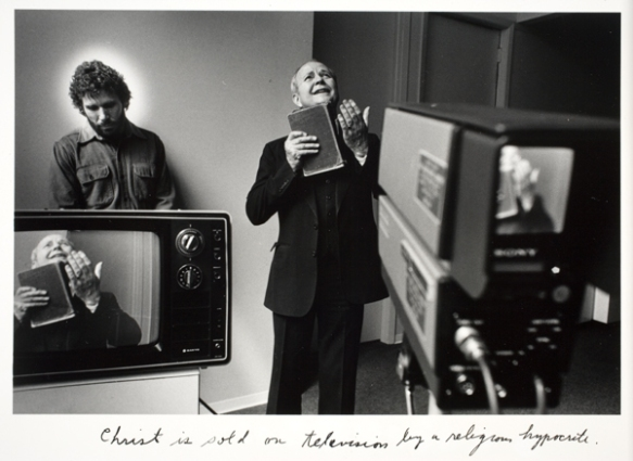 De Duane Michals : Christ in New York
