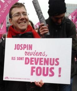 Jospin revient manif pour tous