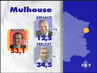 Elections municipales à Mulhouse en 1995