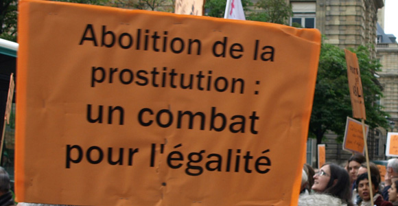 Abolition de la prostitution, un combat pour l'égalité